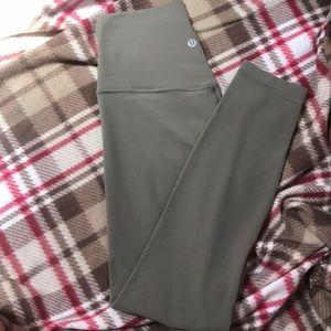 Lululemon align 2 pants ( sage )